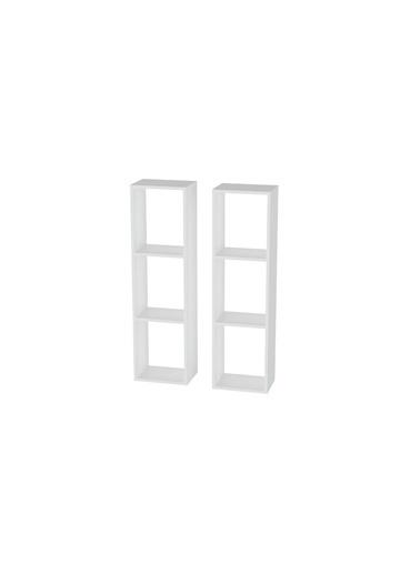 Sanal Mobilya Hayal Çok Amaçlıdolap Seti 55 Beyaz